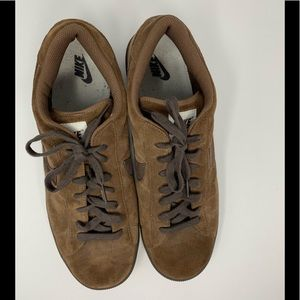 Nike Shoes - Nike Brown Suede Sneakers